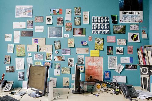 Bureau post-it