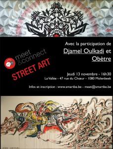 affiche M&C STREET ART