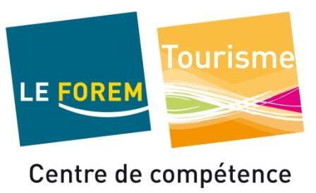 fr services formation formations partenaires le centre de competence forem tourisme